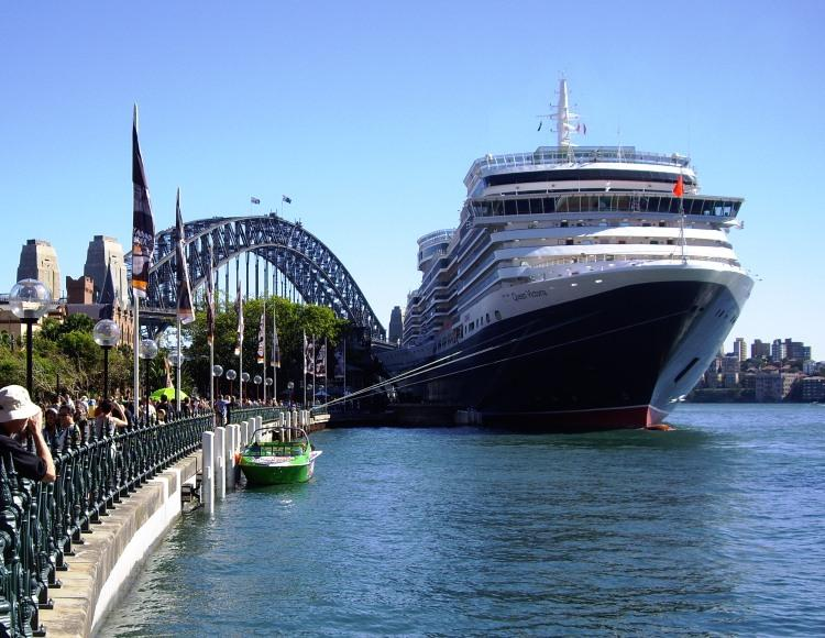 Pacific Port Of Departure Sydney Cruise Ship Captain